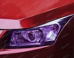 30 x 100cm PURPLE Headlight Tint Film Fog Tail Lights Tinting Wrap2 DAY DELIVERY