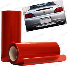 30 x 100cm RED Headlight Tint Film Fog Tail Lights Tinting Wrap,2 DAY DELIVERY