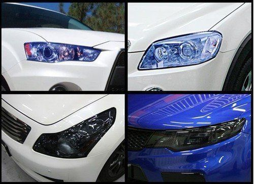 30 x 50cm BLUE Headlight Tint Film Fog Tail Lights Tinting Wrap, 2 DAYS DELIVERY