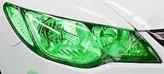 30 x 50cm GREEN Headlight Tint Film Fog Tail Lights Tinting Wrap,2 DAY DELIVERY