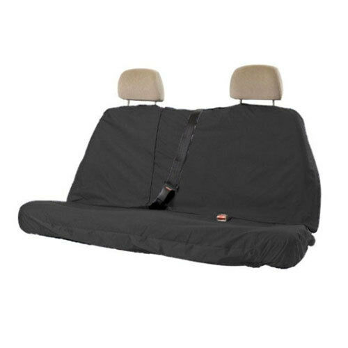 Heavyweight Rear Car Seat Protector Cover Black Water Resistant Universal Fit