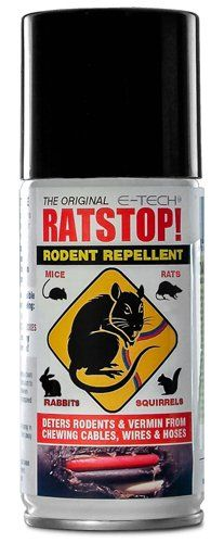 RATSTOP Rat Rabbit Mice Squirrel Rodent Repeller Repellent Deterrant Spray