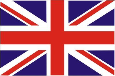 UNION JACK STICKER FLAG GREAT BRITAIN FLAG